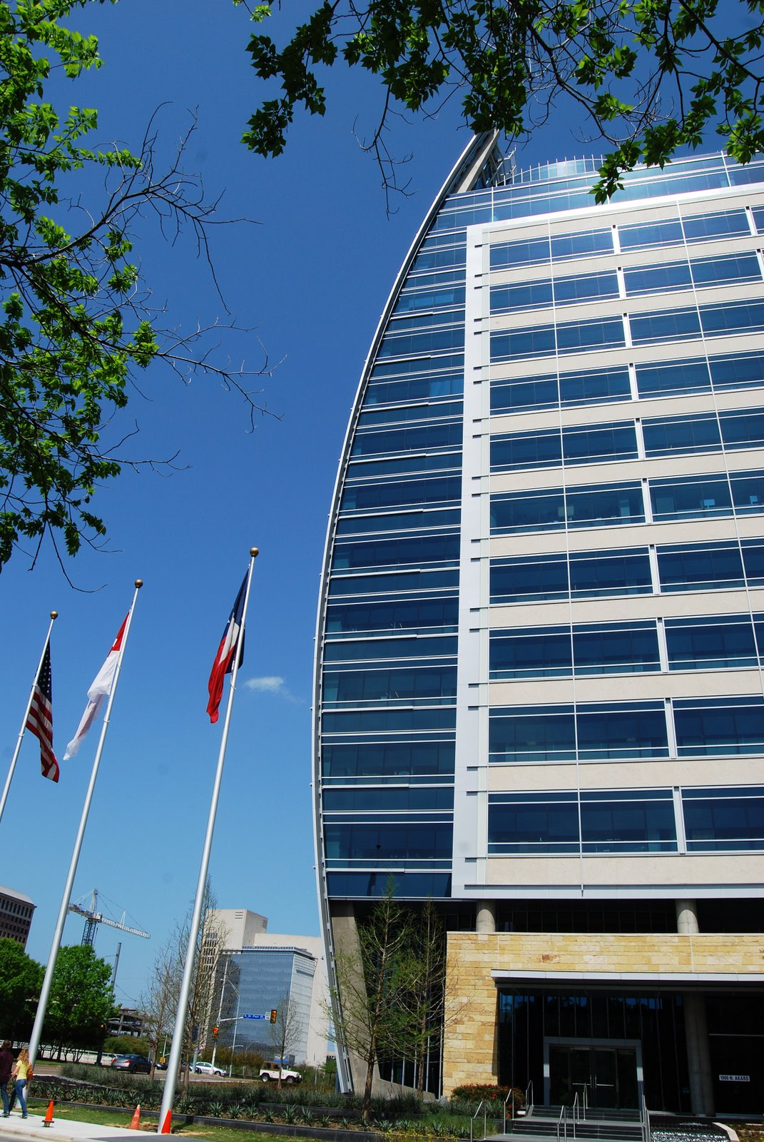 Hunt Oil Headquarters Building Marek