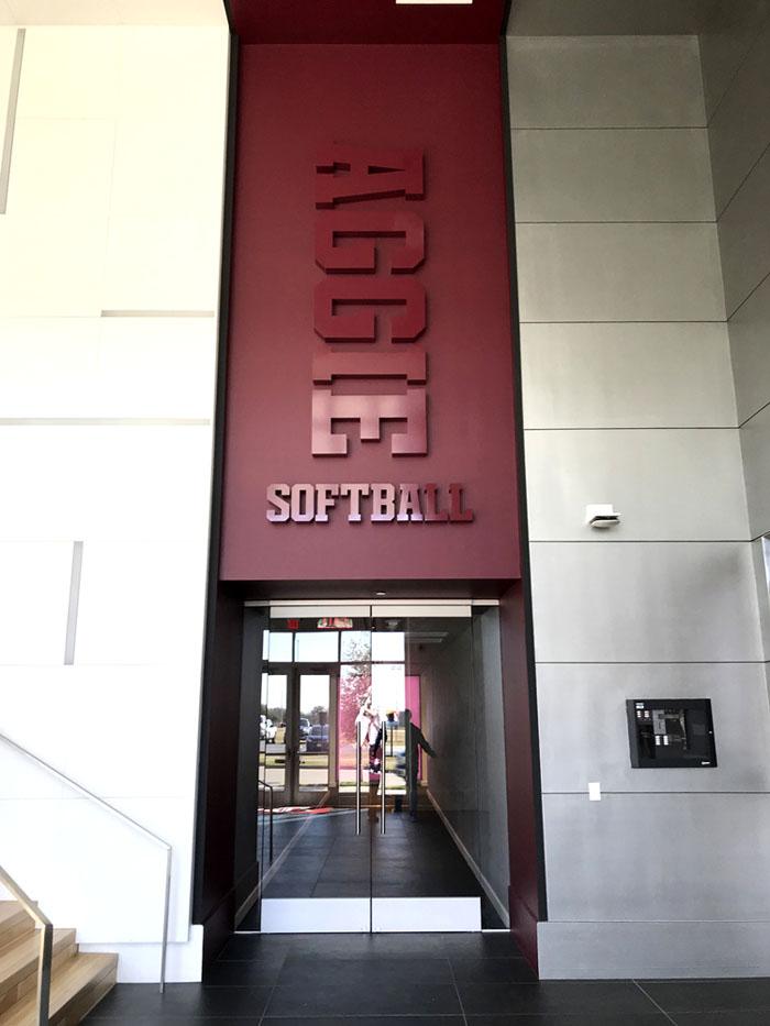 Texas A M University Softball Stadium Marek