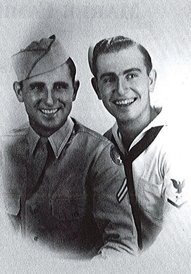 Bill and Ralph Marek