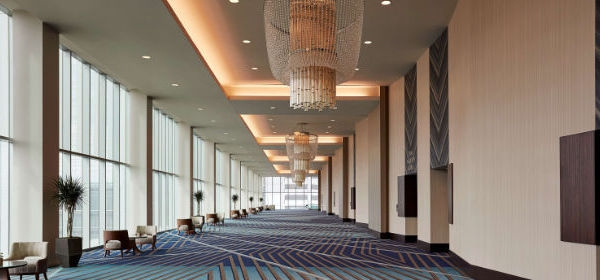 Ballroom before a function